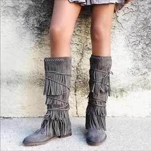 NWOT Free People Songbird Boots